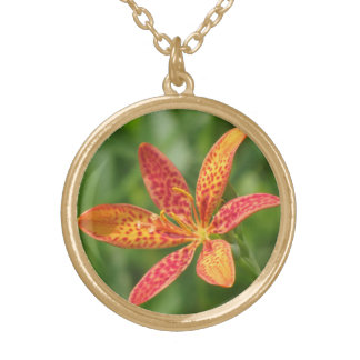 Blackberry Lily Necklace