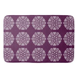 Blackberry Mandala Bath Mat