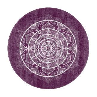 Blackberry Mandala Cutting Board