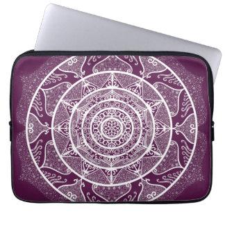 Blackberry Mandala Laptop Sleeve