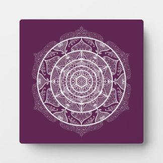 Blackberry Mandala Plaque