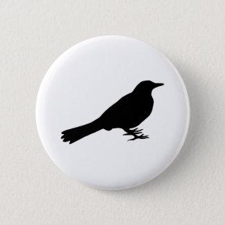 Blackbird 2 Inch Round Button