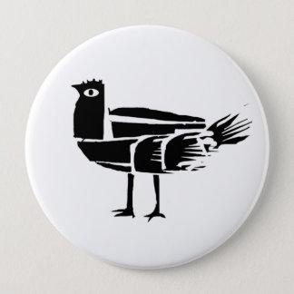 *BlacKbird* 4 Inch Round Button