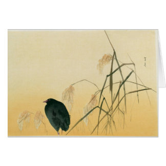 Blackbird, Edo Period Card