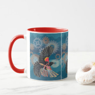 Blackbird Flies Mug