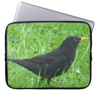 """Blackbird image for Neoprene Laptop Sleeve 15"""""""