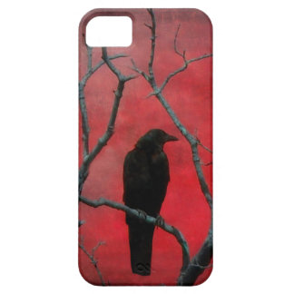 Blackbird In The Red iPhone 5 Cases