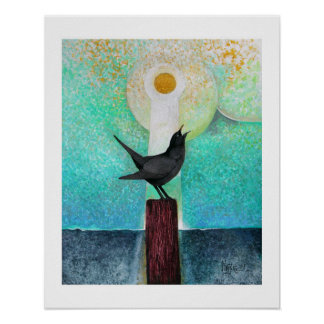 Blackbird Singing In The Dead Of Night Poster