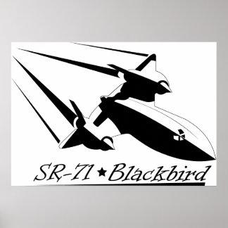 Blackbird SR-71 Poster