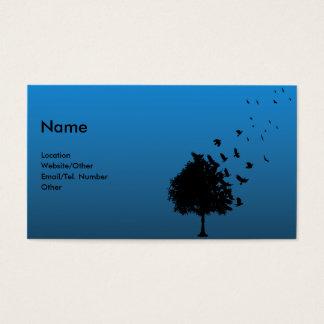 Blackbirds Business Card