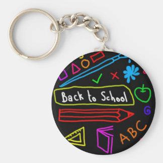 Blackboard Back To School Keychain