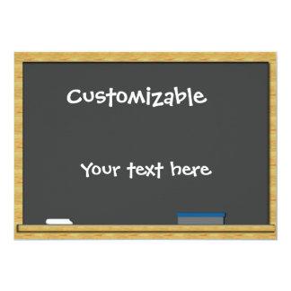 Blackboard Greeting - Customizable Card