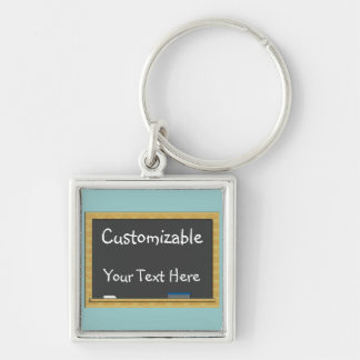 Blackboard Greeting - Customizable Keychain