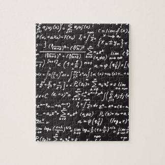 Blackboard Math Equations Jigsaw Puzzle