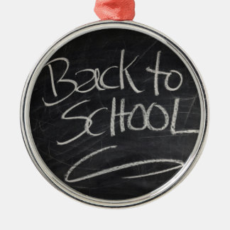 Blackboard Metal Ornament