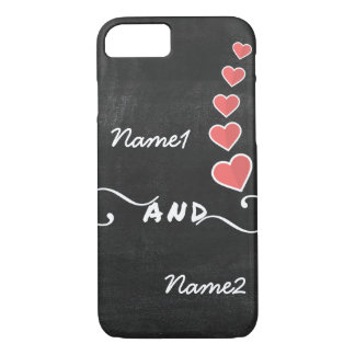 Blackboard- Names- Love- iPhone Cover