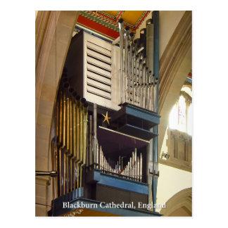 Blackburn Cathedral, UK postcard