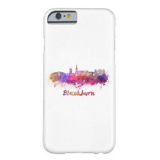 Blackburn skyline in watercolor barely there iPhone 6 case