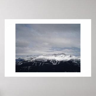 Blackcomb Mountain Poster