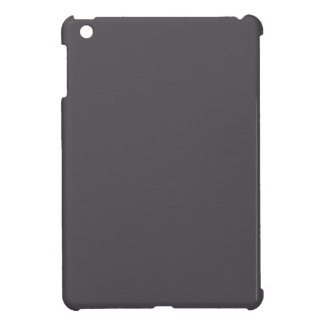 Blackened Pearl Gray Color Cover For The iPad Mini