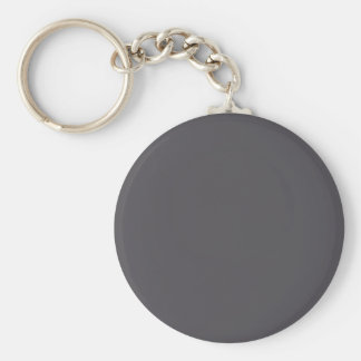 Blackened Pearl Gray Color Keychain