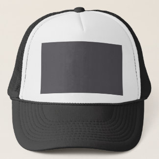 Blackened Pearl Gray Color Trucker Hat