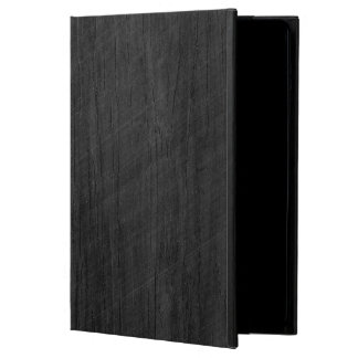 Blackened Wood Veneer Woodgrain iPad Air Cover