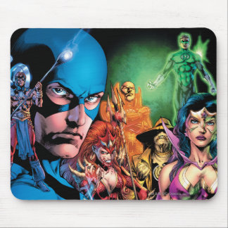 Blackest Night Comic Panel 2 - Color Mouse Pad