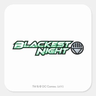 Blackest Night Logo 2 Square Sticker