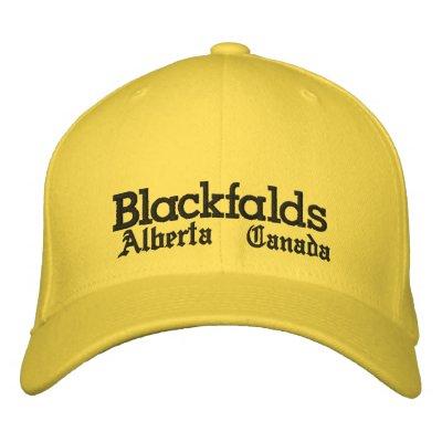 Blackfalds, Alberta, chapeau Casquettes De Baseball Brodées
