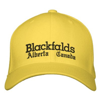 Blackfalds, Alberta, chapeau Chapeau Brodé
