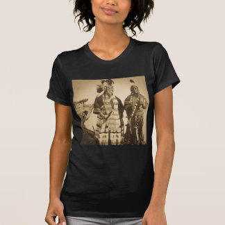 Blackfoot Indians Chief and Warrior Vintage T-Shirt