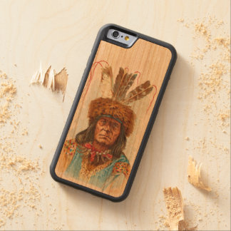 Blackfoot Sioux Chief: Big Razor Cherry iPhone 6 Bumper