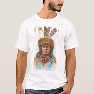 Blackfoot Sioux Chief: Big Razor T-Shirt