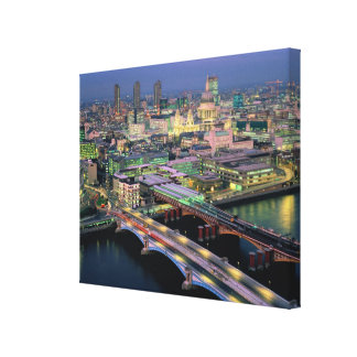 Blackfriar's Bridge Stretched Canvas Prints