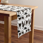 Blackie the Black Cat Table Runner