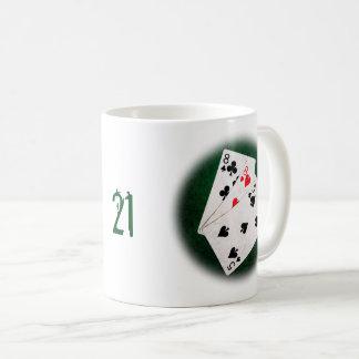 Blackjack 21 point - Eight, Eight, Five Coffee Mug
