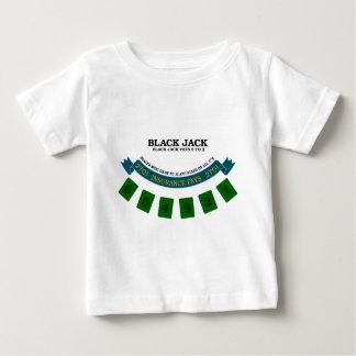 Blackjack board surface design 1 baby T-Shirt