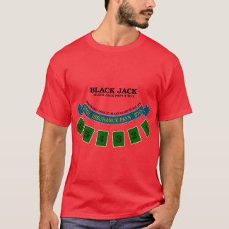 Blackjack board surface design 1 T-Shirt