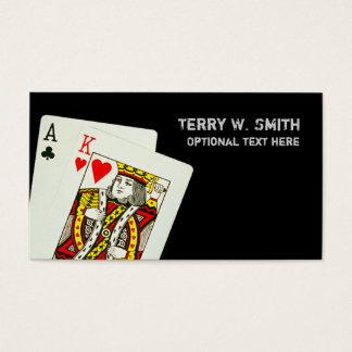 Blackjack Business Card