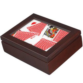 Blackjack Keepsake Box