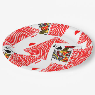 Blackjack Paper Plate