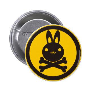 BlackJack(Rabbit) 2 Inch Round Button