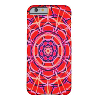 Blacklight Red Mandala Special Glow iPhone 6 Case