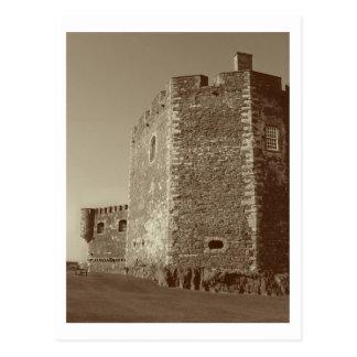 Blackness Castle Duo Tone Postcard