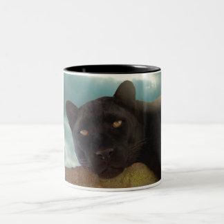 blackpanther3 Two-Tone coffee mug