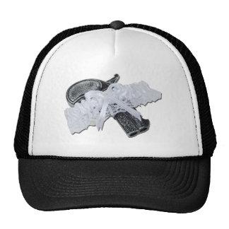 BlackPistolGarterBelt102811 Trucker Hat