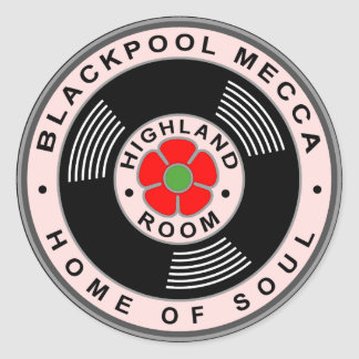 Blackpool Mecca - Home of Soul Classic Round Sticker