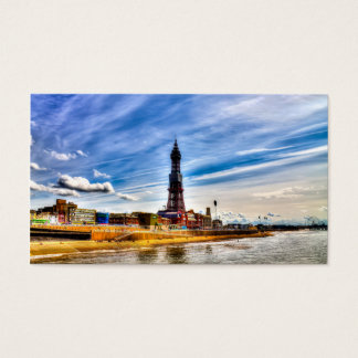 Blackpool Tower Business Card