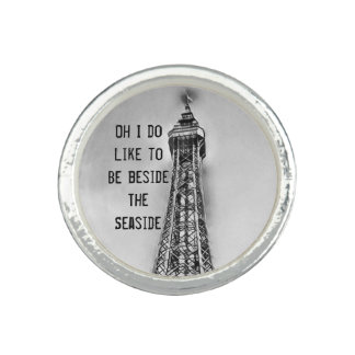 Blackpool tower seaside ring